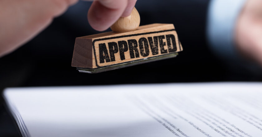 Approval